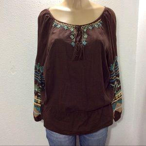 Double D Ranch blouse